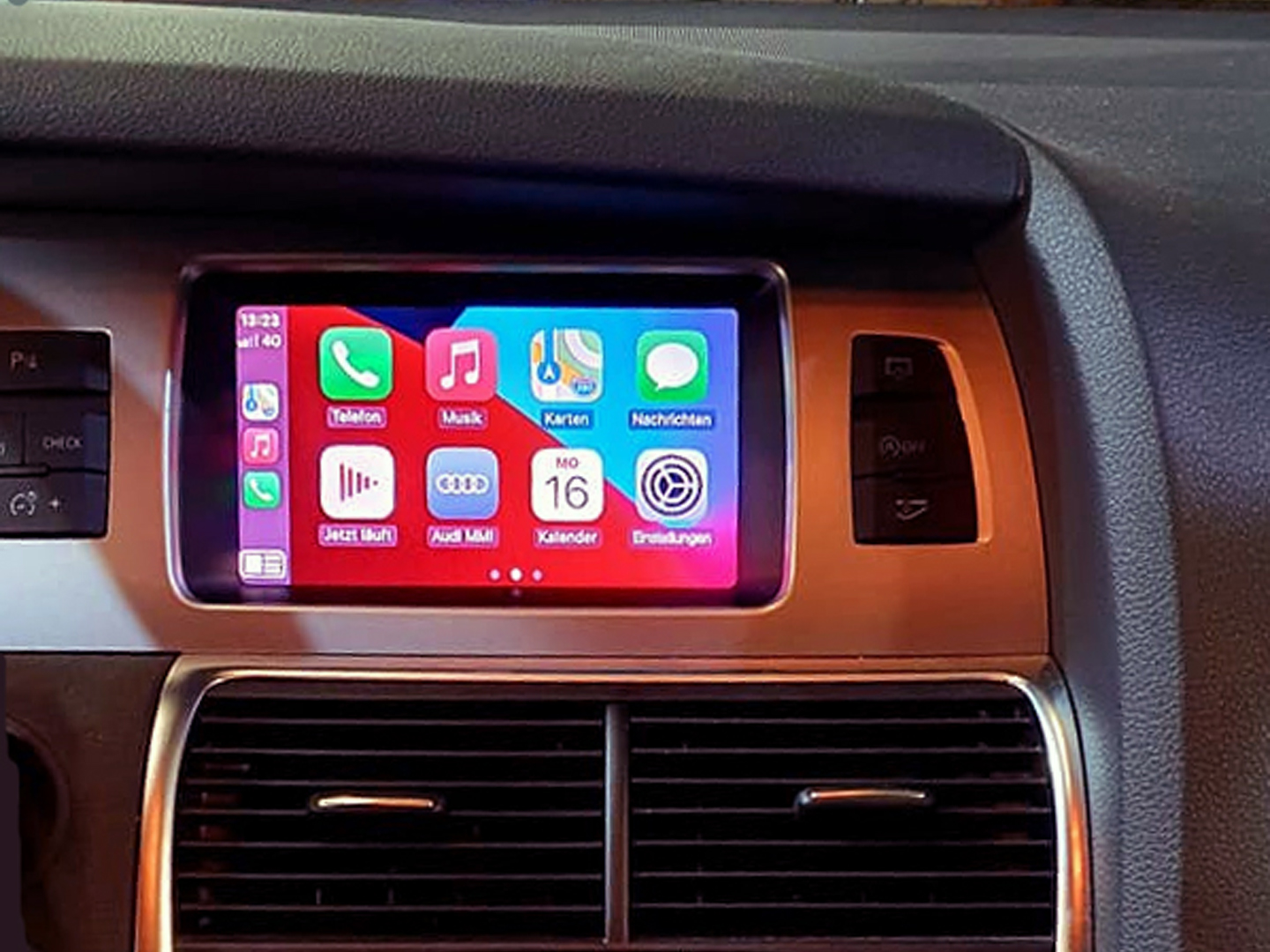 Carplay im Audi Q7 mit MMI3G
