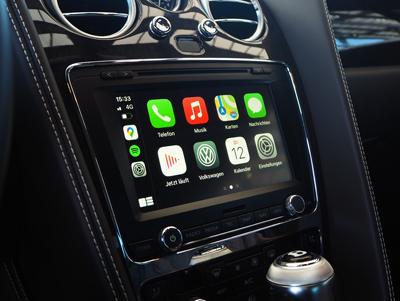 Carplay im Bentley Continental