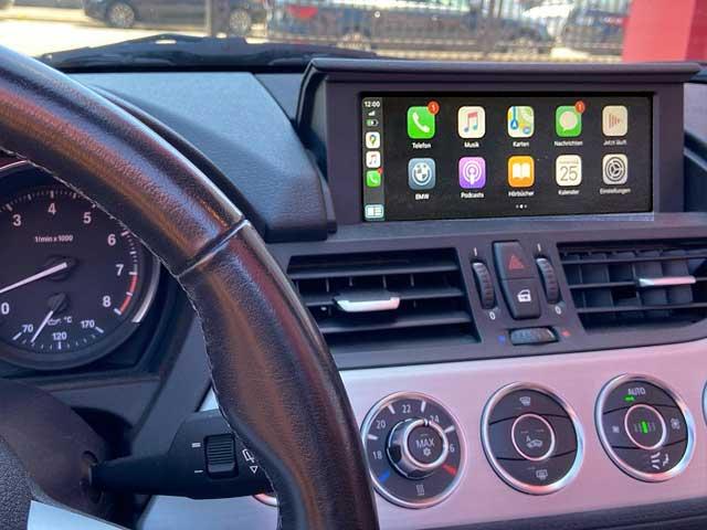 Apple Carplay im BMW Z4