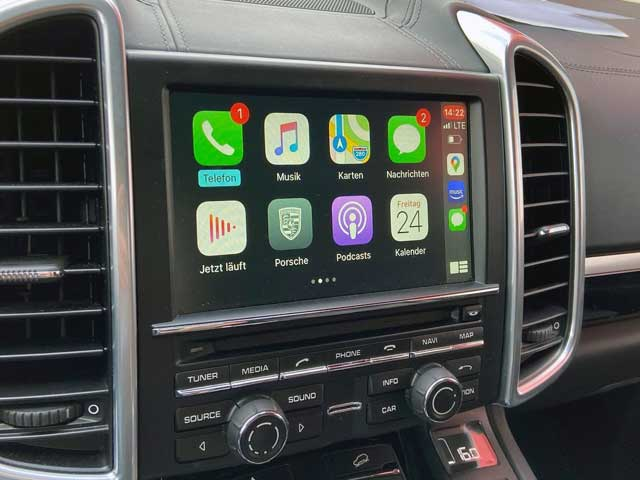 Carplay im Porsche Cayenne PCM3.1