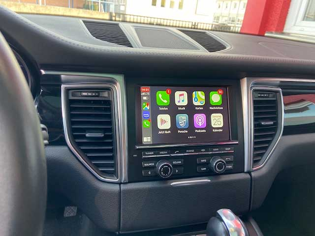 Carplay im Porsche Macan PCM3.1